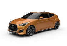 Hyundai Veloster 1.6 Turbo (2016-2016) Front + links