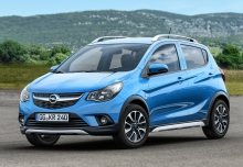 Opel Karl 1.0 Easytronic (seit 2015) Front + links