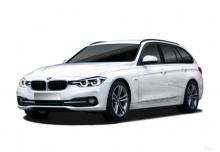 BMW 316d Touring (seit 2015) Front + links