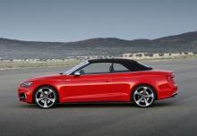 Audi S5 Cabrio 3.0 TFSI quattro tiptronic (2016-2016) Seite links