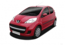 Peugeot 107 70 (2010-2011) Front + links