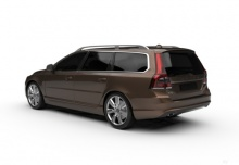 Volvo V70 T4 (2015-2016) Heck + links