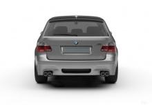 BMW 545i Touring (2004-2005, E61) Heck