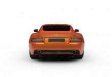 Aston Martin Virage Coupe Touchtronic (2012-2012) Heck