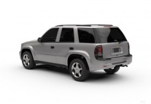 Chevrolet TrailBlazer (2002-2006) Heck + links