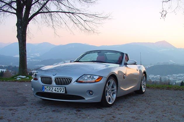 BMW Z4 3.0i: Bayerischer Roadster mit SMG-Getriebe im Test