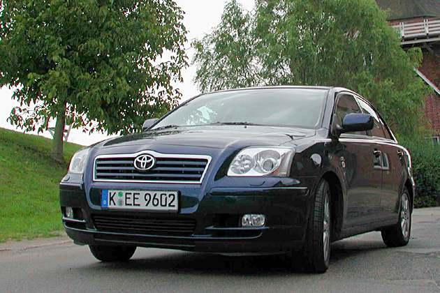 Toyota Avensis D-Cat: Einer der umweltfreundlichsten Diesel