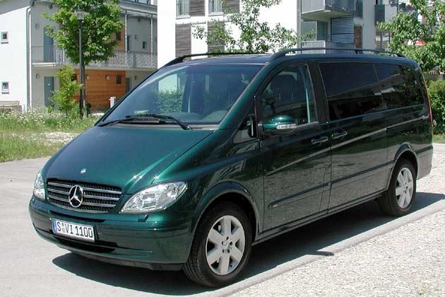 Mercedes Viano 2.2 CDI: Platz für Sechs im geräumigen Shuttle