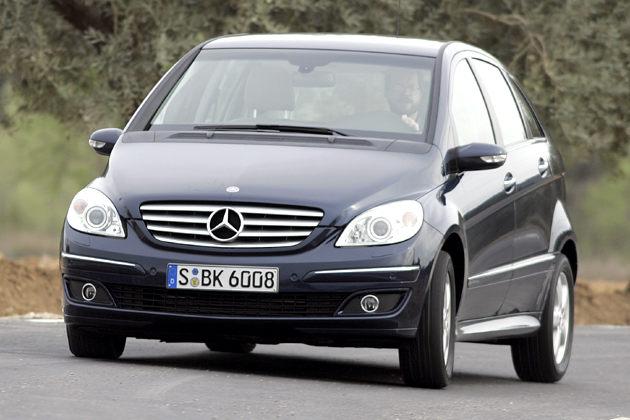 Mercedes B-Klasse: Minivan als B 200 Turbo und B 200 CDI im Test