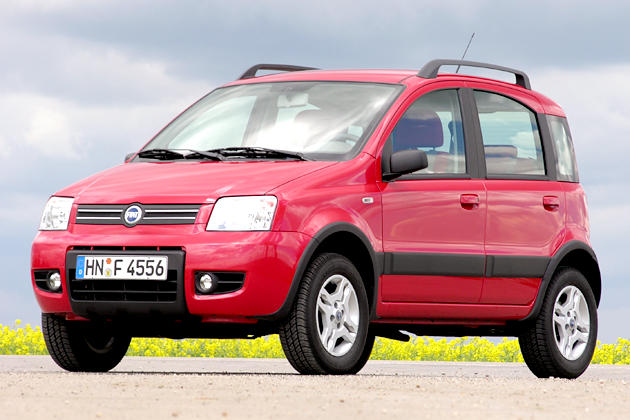 Will hoch hinaus: Fiat Panda 1.2 8V 4x4 Climbing im Test
