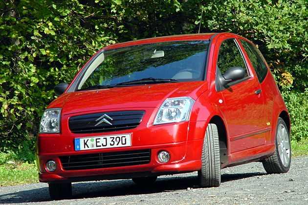 Citroën C2: Kleiner Bruder des C3 mit Wickelsitzen
