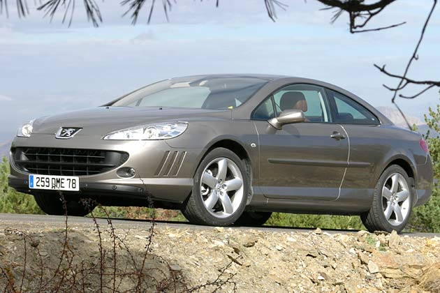 Peugeot 407 Coupé: Sportliches Reisen in gediegenem Ambiente