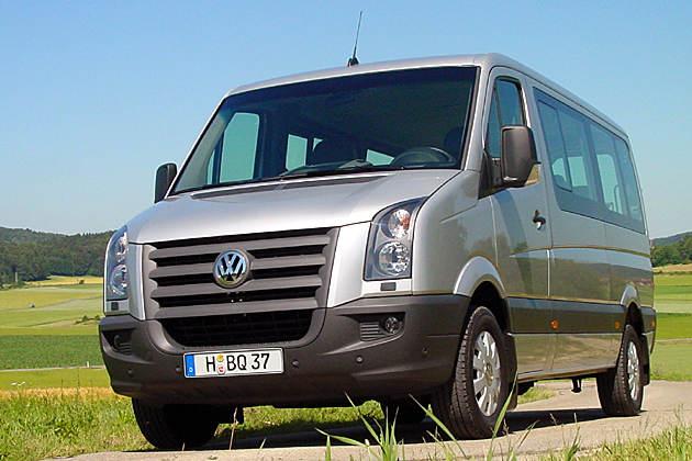 VW Crafter im Test: LT-Nachfolger mit Schweinehälften-sicherem ESP