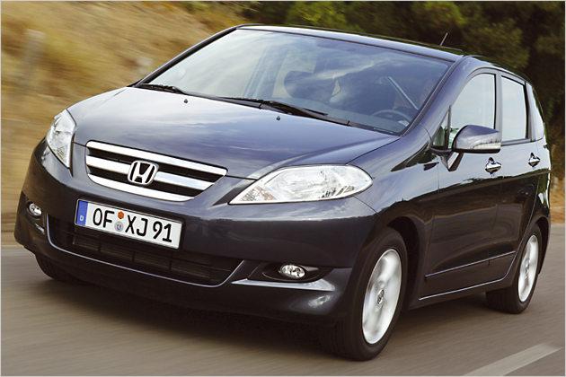 Sechs gewinnt: Honda FR-V mit neuem 1,8-Liter-Benziner im Test