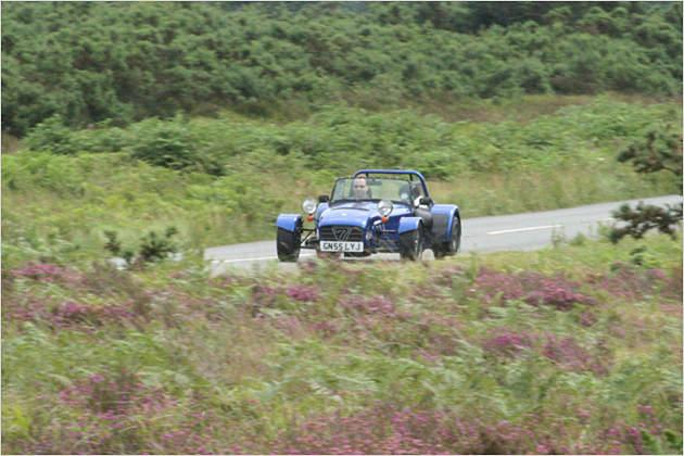 Caterham CSR200: Wir testen das Seven-Style-Car in England