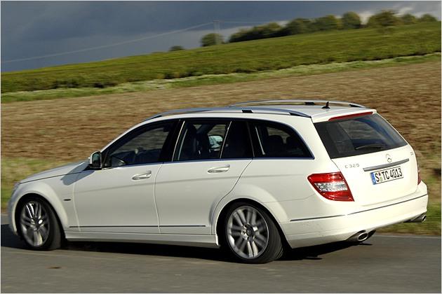 Für sportliche Fahrweise geeignet: Mercedes C-Klasse T-Modell