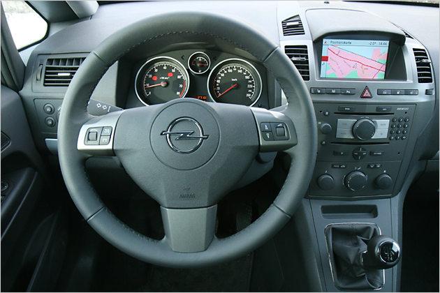 Das Cockpit ist übersichtlich gestaltet