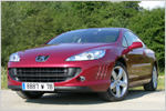 Peugeot 407 Coupé V6 HDi FAP 205 im Test: Ein Coupé zum Cruisen