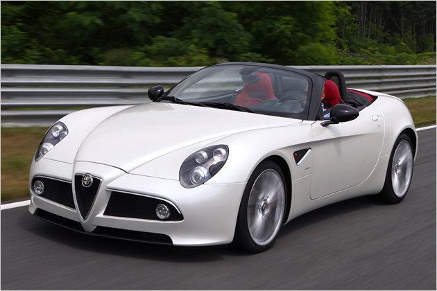 Alfa 8C Spider: Die italienische Offenbarung im Test