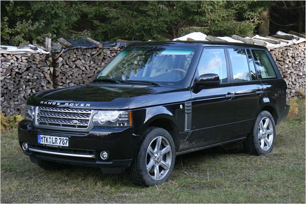 Range Rover V8 Supercharged im Test: Power-Koloss