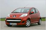Peugeot 107 im Test: Gut gebrüllt, kleiner Löwe!