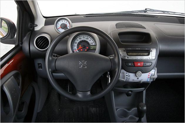 Das Cockpit gibt keine Rätsel auf, der Drehzahlmesser thront auf dem Tacho