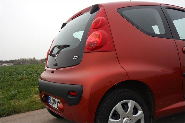 Peugeot ruft für den 107 mindestens 9.850 Euro auf