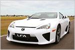 Lexus LFA im Test: Japans Supersportler - die einsame Spitze