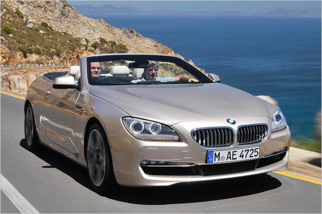 Perfekt für die lange Reise unter der Sonne: Das neue BMW 650i Cabrio (im Bild die rechtsgesteuerte Variante)