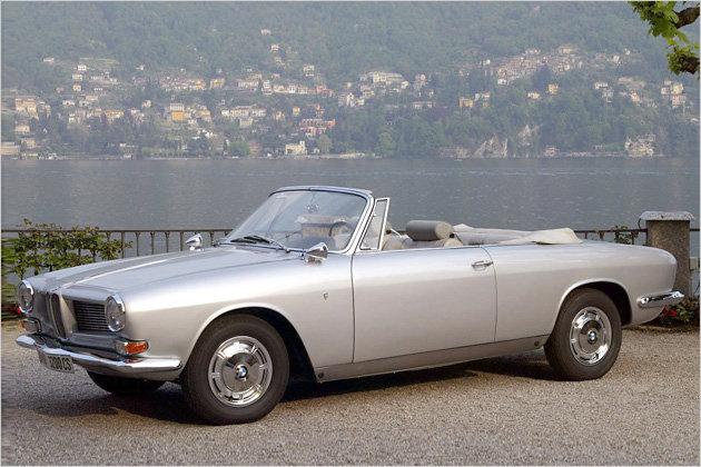 Vorfahr des aktuellen 6er Cabrios als Einzelstück: Für BMW-Hauptaktionär Herbert Quandt wurde eine Cabrio-Variante des 3200 CS gebaut. Quandt hatte 1960 bei BMW eine Kapitalerhöhung durchgeführt und damit die Übernahme des bayerischen Autobauers durch Daimler-Benz verhindert