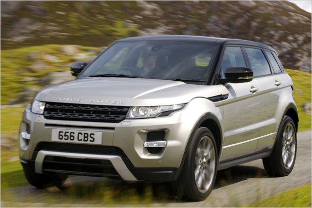 Test Range Rover Evoque: Ein starker Typ nicht nur fürs Gelände