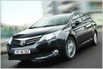 Toyota Avensis Facelift: Neue Optik und sparsamerer Diesel