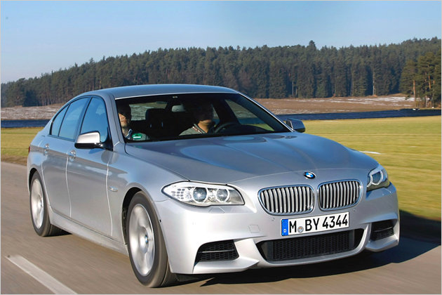 Der neue BMW M550d im Test: Mehr M für Deutschland