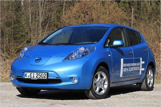 Nissan Leaf im Test: Starkes Elektroauto der Golfklasse mit viel Ausstattung