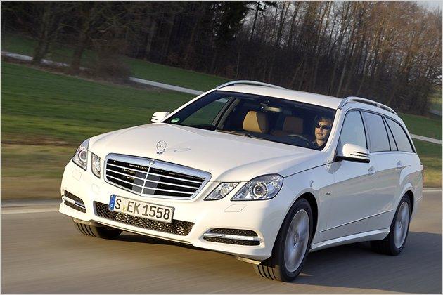 Mercedes E 300 Bluetec Hybrid: Auf großem Segeltörn