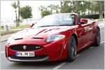 Das neue Jaguar XKR-S Cabrio im Test: Offen bis 300