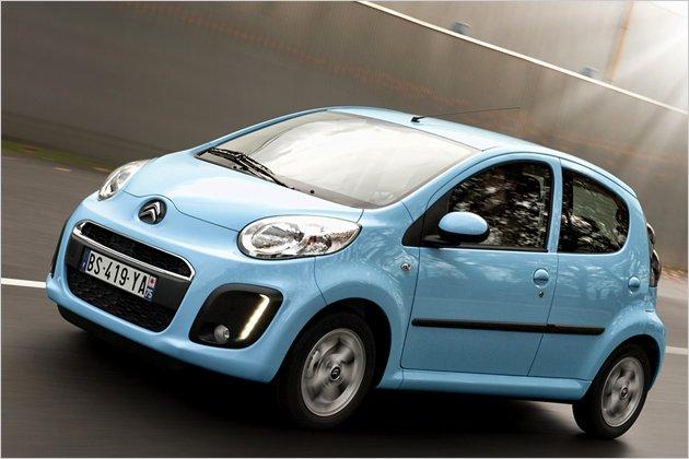Citroën C1 nach dem Facelift im Test: Sparsames Herzchen