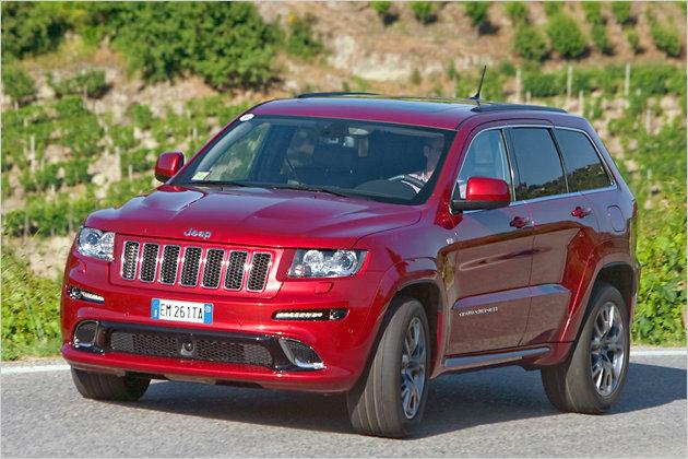 Jeep Grand Cherokee SRT: Häuptlings heißer Hengst