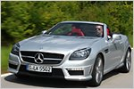 Mercedes SLK 55 AMG Test: Stürmischer Vorwärtsdrang