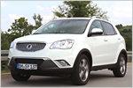 Test: SsangYong Korando 2.0 e-XDi: So gut ist das SUV mit Allradant...