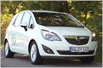 Geiz ist geil: Mit dem Opel Meriva 1.4 LPG auf Tour