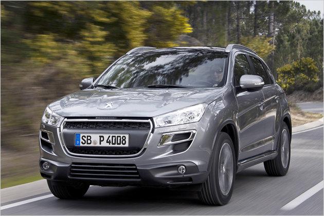 Peugeot 4008: Der Drilling im Löwen-Look