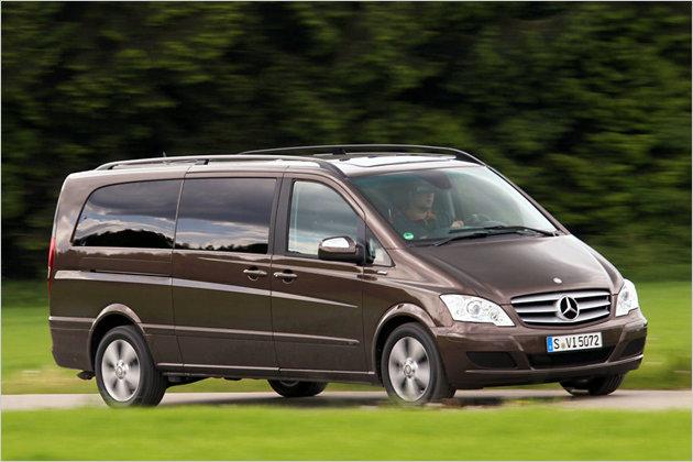 Extralanger Mercedes Viano 2.2 CDI im Test: Alles auf die Plätze