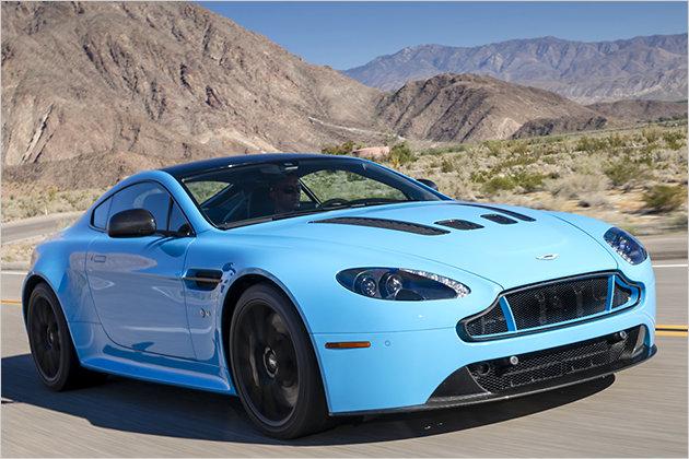 Aston Martin V12 Vantage S im Test: Voller Sound
