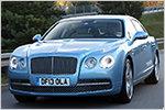 Luxuriös-gediegen fahren und fahren lassen: Bentley Flying Spur im ...