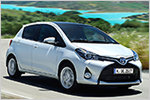Toyota Yaris mit Facelift und Hybridantrieb im Test mit Daten und P...