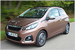 Peugeot 108 TOP! Allure VTi 68 Stopp & Start im Test: Technische Da...
