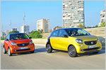 Smart Fortwo und Forfour im Test: Verbrauch, Fahrverhalten, technis...