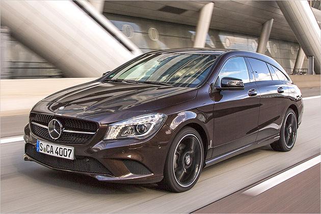 Mercedes CLA 220 CDI Shooting Brake im Test mit technischen Daten und Preis zur Markteinführung