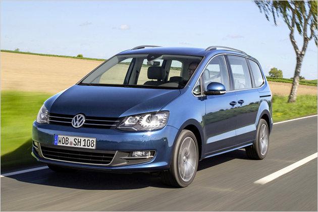 VW Sharan Facelift 2015 im Test mit technischen Daten und Preis zur Markteinführung